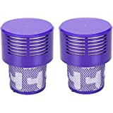 2 Pack Replacements Filter for Dyson Vacuum V10, SV12 Cyclone Animal Absolute Total Clean Vacuum Cleaners, Replace Part 96908
