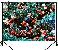 GooEoo 9X6FT(270X180CM)メリークリスマスパーティーのテーマカスタマイズされたシームレスなビニール写真の背景写真の背景スタジオプロップPGT188B