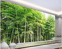 Bzbhart 3D壁紙シルク壁画Hd竹風景装飾絵画 壁壁画壁紙用リビングルーム-400cmx280cm