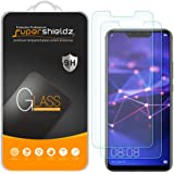 [2-Pack] Supershieldz for Huawei (Mate 20 Lite) Tempered Glass Screen Protector, Anti-Scratch, Bubble Free, Lifetime Replacem