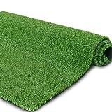 PET GROW リアル 人工芝 芝生 芝丈10mm グリーン 緑 耐UV 庭 インテリア やわらかい 室内外 高品質 高密度 犬 カーペット マット (1M*3M)