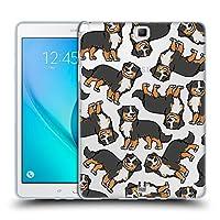 Head Case Designs バーニーズマウンテン ドッグブリード・パターンズ7 Samsung Galaxy Tab A 9.7 専用ソフトジェルケース