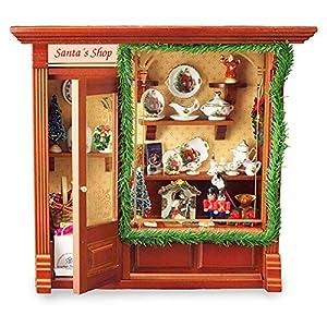 【ロイターポーセリン】【ミニチュア】 ドールハウス クリスマスショップ RP1797-7
