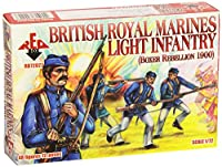 レッドボックスFigures British Royal Marine Light Infantry Boxer Rebellion 1900( 48-piece ) ( 1/ 72-scale )