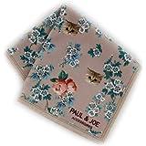 ポール&ジョー レディース ハンカチ (ベージュ) メガネ・液晶も拭ける ハンカチ [マイクロファイバー] 婦人 リバーシブルハンカチーフ 25cm ポールアンドジョー PAUL&JOE ACCESSOIRES 107167-1201-04