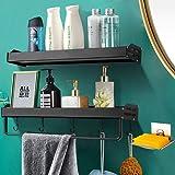 3-Pack Shower Caddy Corner with Soap Dish Holder Bathroom Shower Organizer Hanging Shower Shelf with Shower Rack Kitchen Stor