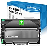 Galada Compatible Toner Cartridge and Drum Unit Replacement for Brother DR420 DR-420 TN450 TN-450 TN420 TN-420 for HL-2240 22