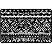 Alaza Tribal Stripe Aztec Ethnicエリアラグ3 ' 3