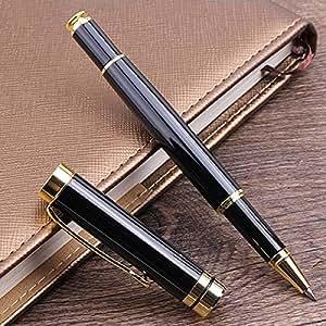 vinmaxラグジュアリーメタル署名ペンエレガントなWritingボールペン耐久性プレミアム金属ゲルのペン署名ボールペンまたはSmooth Writing Golden