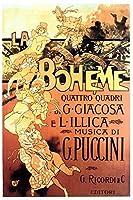 "La Boheme (イタリア)ポスター( 11"" x 17"" )"