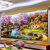 Diamond Painting Set, DIY 5D Diamond Painting Kits Full Full Painting Craft Cross Stitch Wall Decoration for Home Wall Decor,
