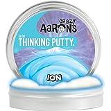 【 蓄光タイプ シリコン製パティ 】 Crazy Aaron's Putty World シンキングパティ グローインザダーク シリーズ EU安全規格適合 内容量90g レギュラーサイズ Made in USA 日本正規代理店品 【 イオン 】 IO