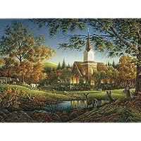 Buffalo Games - Terry Redlin - Sunday Morning - 1000 Piece Jigsaw Puzzle [並行輸入品]