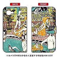 SECOND SKIN 手帳型スマートフォンケース 若林夏 「pool」 / for AQUOS Xx2 mini 503SH/SoftBank SSHX2M-IJTC-401-LJ68