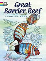 Great Barrier Reef Coloring Book (Dover Nature Coloring Book) by Ruth Soffer(2007-06-26)