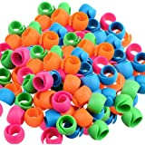 Thread Spool Huggers for Sewing Machine to Prevent Thread Unwinding No Loose Ends or Thread Tails(48pcs)