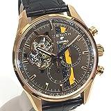 (ゼニス)ZENITH 18.2042.4061/76.C494 エル・プリメロ クロノマスター 限定 コイーバ エディション 裏スケ メンズ腕時計 腕時計 K18無垢/レザー メンズ 新品同様 中古
