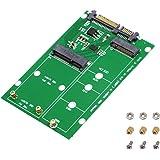 SinLoon 2 in 1 Combine Mini PCI-E M.2 NGFF & mSATA SSD to SATA 3.0 Adapter Converter (SATA3.0/M)