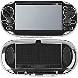 SNNC Playstation Vita 1000 Full Cover Skin Crystal Clear Hard Case for PSV1000