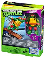 Mega Bloks Teenange Mutant Ninja Turtles Raph Seesaw Stunt Building Playset