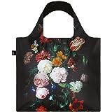 LOQI Museum Jan Davidsz de Heem's Still Life with Flowers in a Glass Vase Reusable Shopping Bag, Multicolored