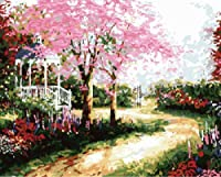 Diy oil painting, paint by number kit- Dream trails 16*20 inch. by Colour Talk