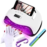 UV LED Nail Lamp JORAGO 168W Professional Nail Dryer Upgrade Nails Light Fast Curing Gel Polish Machine With the unique phone