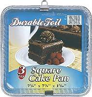 Bulk Buysケーキパン正方形アルミニウム3CT–ケースof 12