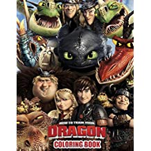 How To Train Your Dragon Coloring Book: Great Coloring Book For Kids.