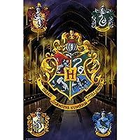 (ハリー・ポッター) Harry Potter オフィシャル商品 マキシ ポスター (ワンサイズ) (イエロー)