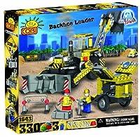 COBI Action Town Construction Backhoe Loader 330 Piece Set [並行輸入品]