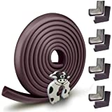 Edge Guard & Corner Protector - Extra Long 22.0ft [20.4ft Edge + 8 Corners] with Baby Proofing, Home Safety Furniture Bumper