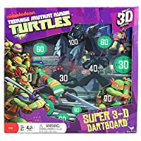 タートルズ 3Dダーツ盤 Teenage Mutant Ninja Turtles Super 3-D Dartboard 並行輸入品
