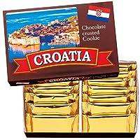 クロアチア 土産 クロアチア クッキーオンチョコレート 1箱 (海外旅行 クロアチア お土産)