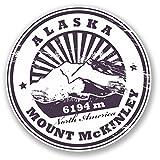 2 x 30cm アラスカ - ノートPCやタブレット用ビニールステッカー #4303