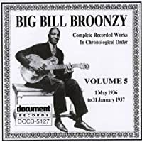 1936-37 Vol 5 by Big Bill Broonzy
