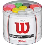 Wilson Tennis Racket Pro Over Grips Bowl, Multi-Color , 60 Pieces