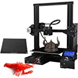 Lixada Ender-3X Upgraded High-precision DIY 3D Printer Self-assemble 220 * 220 * 250mm Printing Size with Glass Plate