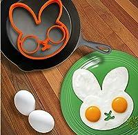 ウサギのシリコンエッグモールドリング調理器具卵焼きキッチンガジェット格安価格
