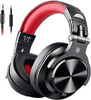 【音源ミックス&音楽シェア】OneOdio モニターヘッドホン 音楽シェア機能 低音強化 DJヘッドホン 有線ヘッドフォン 密閉型 室内 宅録 A71