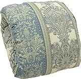 羽毛布団 マザーグース ダウン95%フェザー5% 2層式 シングル 日本製 (ブルー)