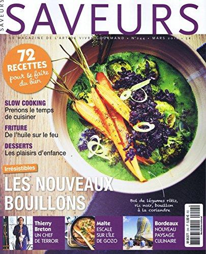 Saveurs [FR] No. 244 2018 (単号)