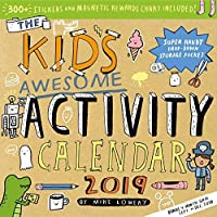 The Kid's Awesome Activity Wall Calendar 2019 [12 x 12 inches] [並行輸入品]