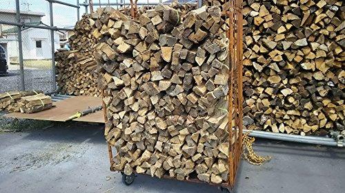 1年物の乾燥薪【約40cmナラ材】 アローBOX約500kg