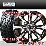 16インチ 4本セット タイヤ&ホイール BFグッドリッチ(BFGoodrich) All-Terrain T/A KM2 285/75R16 クリムソン