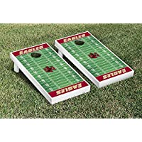 Boston College Eagles regulation Cornhole Game Setフットボールフィールドバージョン