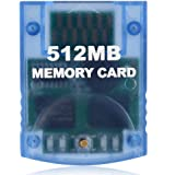 VOYEE Memory Card Replacement for GameCube Memory Card, 512M Memory Card Compatible with Nintendo GameCube and Wii Console- B