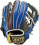 ZETT(ゼット) ソフトボール オールラウンド グラブ(グローブ) リアライズ (右投げ用) BSGB52710 ブラック/ブルー