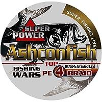 Ashconfish PEライン釣りライン4編 高強度 150M 200M 300M 500M 1000M 0.4号-1…