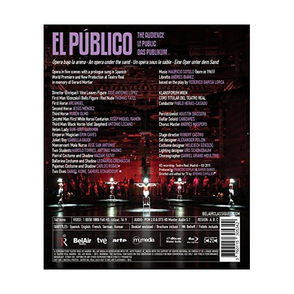 Sotelo: El Publico [Blu...の紹介画像2